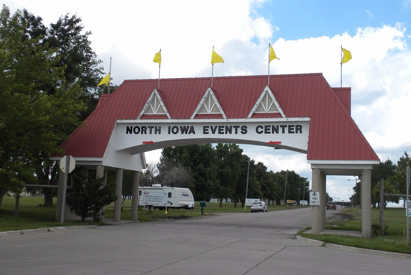 North iowa events center home of the fair ice arena for Community motors mason city ia
