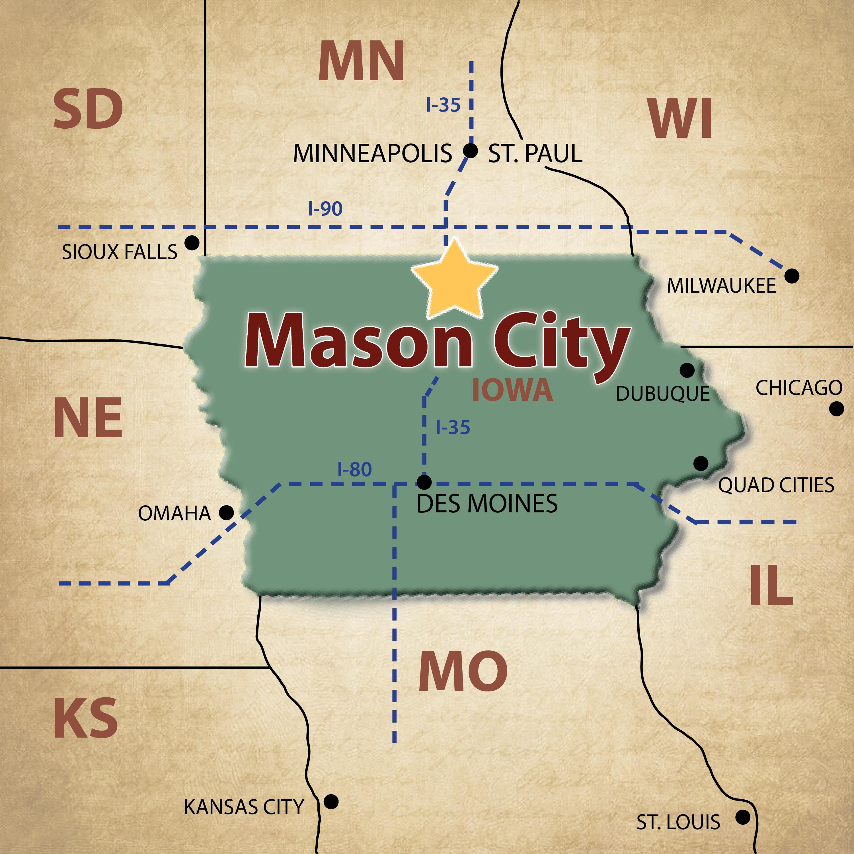 map of mason city iowa Mason City Maps Visit Mason City map of mason city iowa