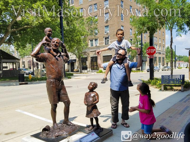 River City Sculptures on Parade, Mason City, Iowa